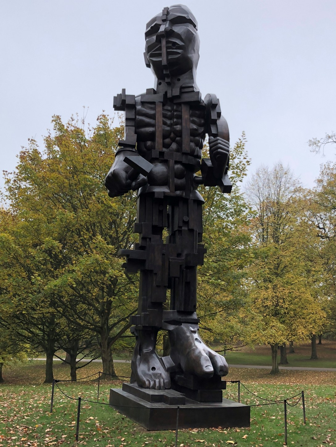 Monumental 'Bronze' 'sculpture' by 'artist' Eduardo Paolozzi, 'cast' at Pangolin Editions