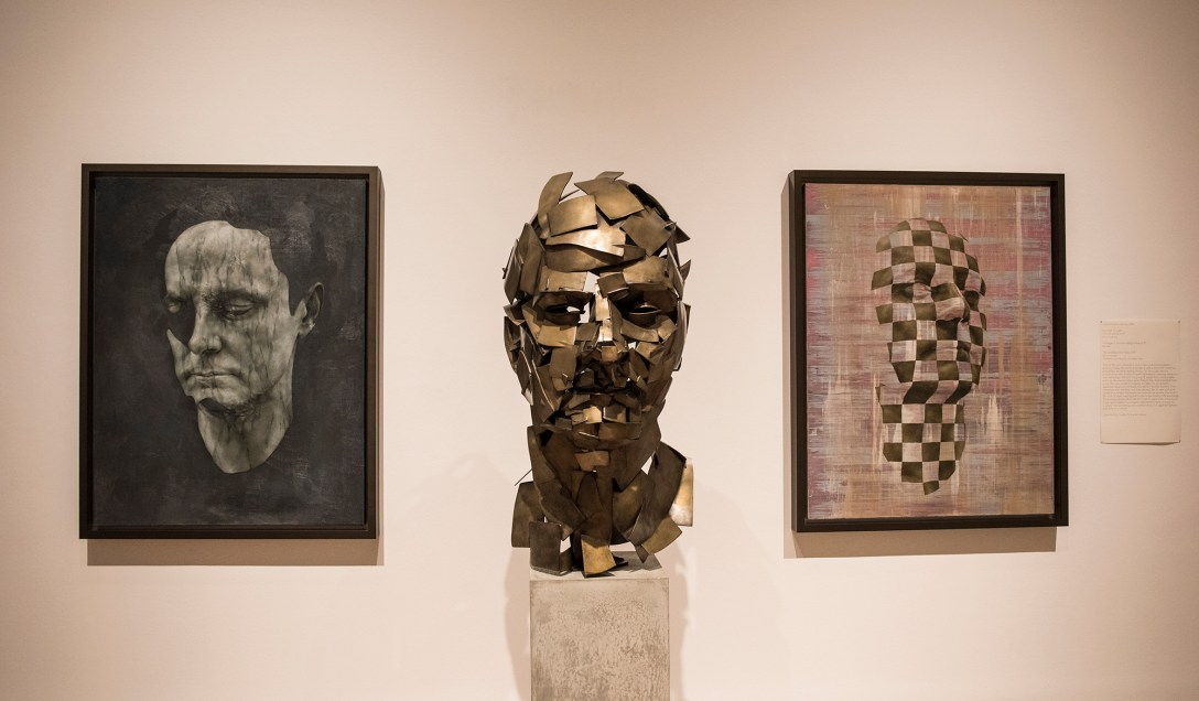'3d printed' 'Bronze' 'sculpture' by Jonathan Yeo, 'cast' at Pangolin editions