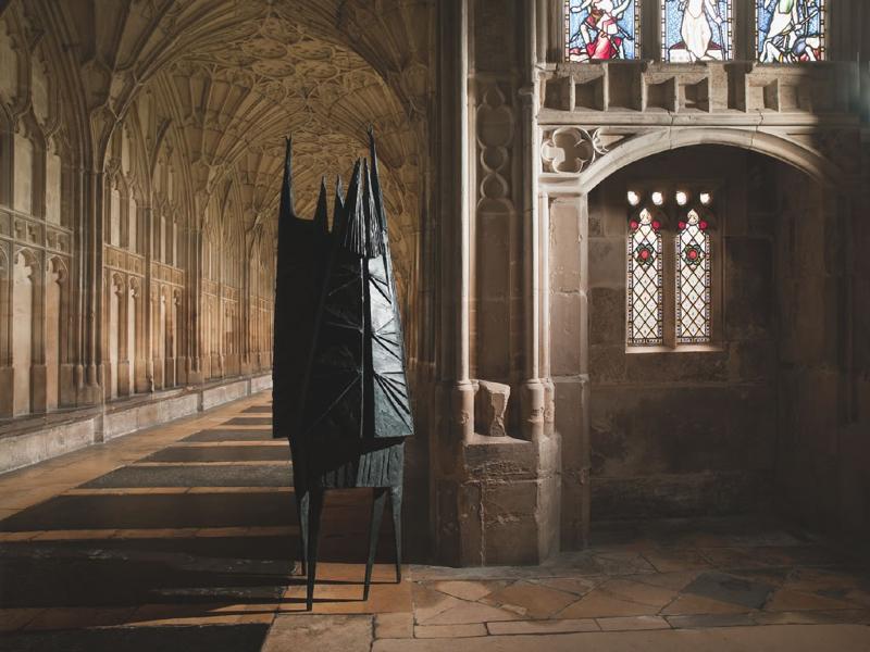 'bronze' 'sculpture' by 'artist' Lynn Chadwick, 'cast' by Pangolin Editions