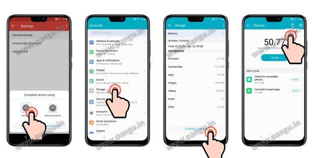 frp locked Open Settings in Huawei Honor 8X JSN-L22