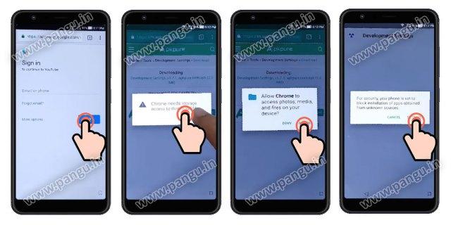 Asus Zenfone Max Pro M1 Bypass FRP Google Account - Pangu in