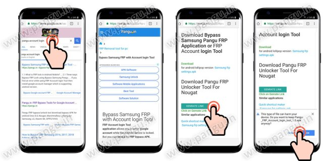 09 pangu frp account login tool for frp locked mobile