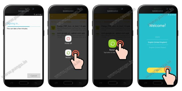 samsung galaxy j5 prime frp unlocked or removed