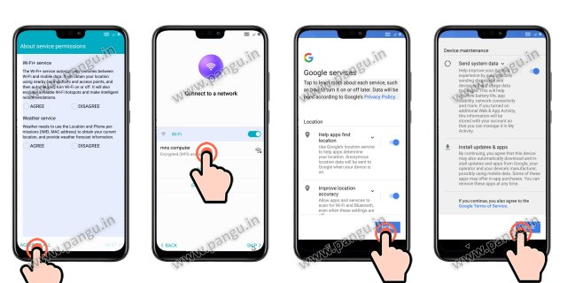 Unlock FRP Huawei Honor 8x jsn-l42 jsn-L22 - Pangu in