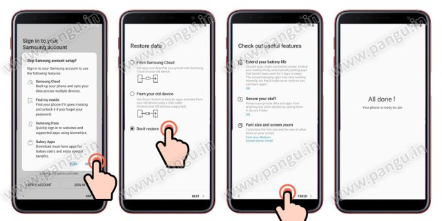Samsung Galaxy A7 A7 Plus (2018) V8.0 Frp Lock Remove google account done restore the samsung galaxy mobile samsung cloud