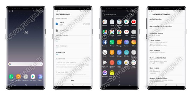 Galaxy Note 9 Remove FRP Google Account N960F N960U N960N - Pangu in