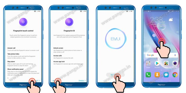 Unlock FRP Honor 9 lite LLD-AL10 without Miracle Box, MRT or