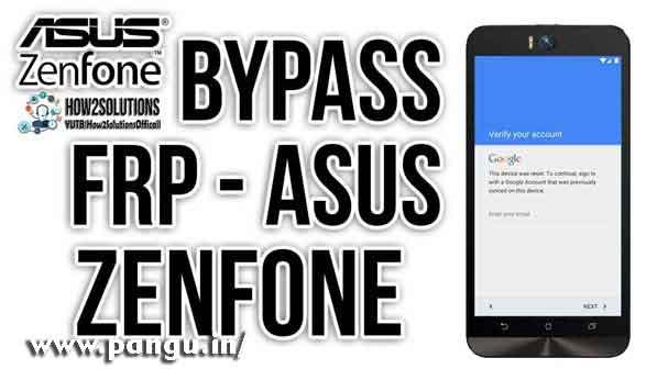 Asus Zenfone Laser Go Bypass Google Account Verification FRP lock