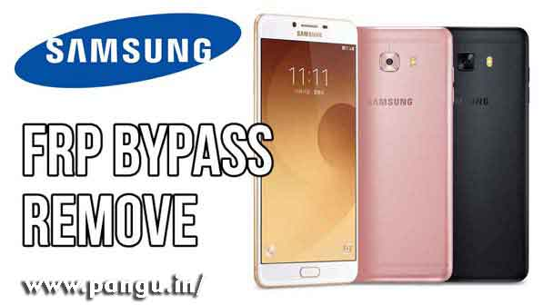 Galaxy C7 C9 Pro Bypass Samsung Account Google verification (FRP