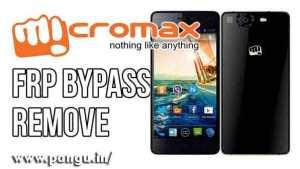 Micromax Bypass Google Account Verification FRP lock