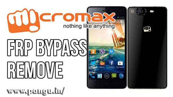 Micromax Bypass Google Account Verification FRP lock - Pangu in