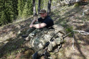 Spring Bear Backpack Hunt in Idaho Sam Millard Kifaru EMR II
