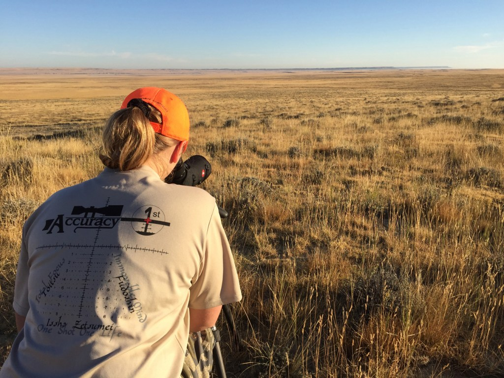 Jessica Millard Accuracy 1st in Wyoming