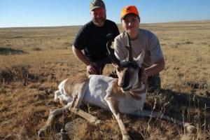 Long Range Wyoming Antelope