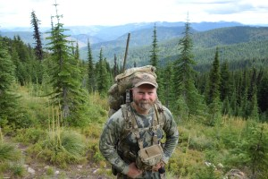 Sam Millard on a fall bear hunt in Idaho