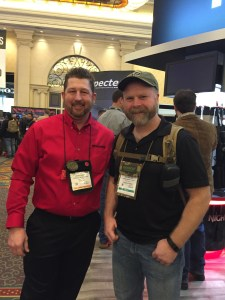 Sam and Sonny at SHOT Show 2016