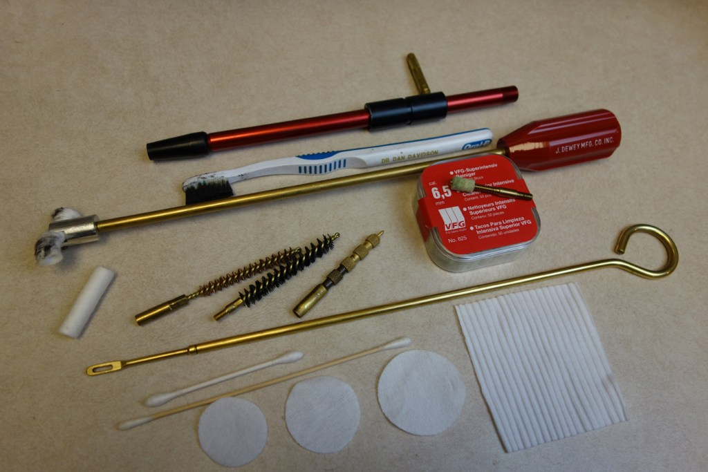 Rifle cleaning tools
