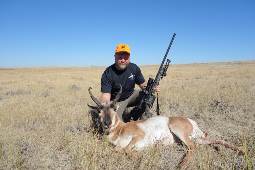 Sam Millard with 2015 Wyoming Antelope