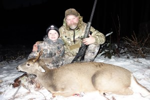 Jake Millard's 1st Idaho Whitetail 2015