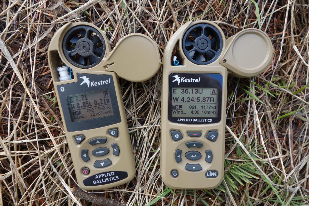 Kestrel 4500AB and Kestrel 5700 Elite with LiNK