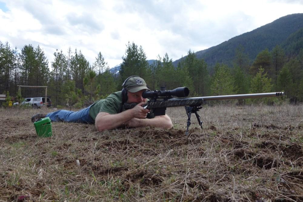 Sam Millard Testing Long Range Hunting Load