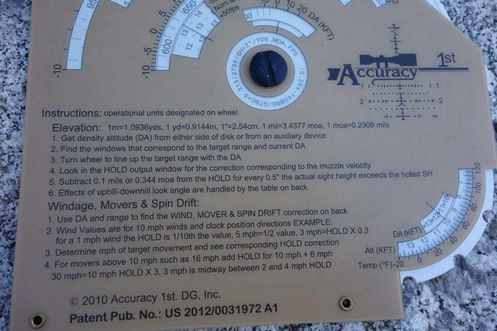 Whiz Wheel instructions