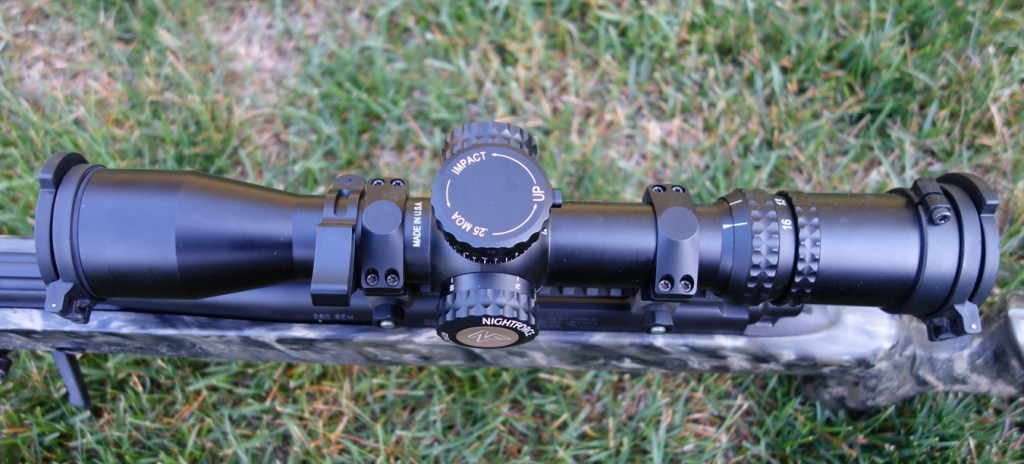 Accuracy 1st scope level