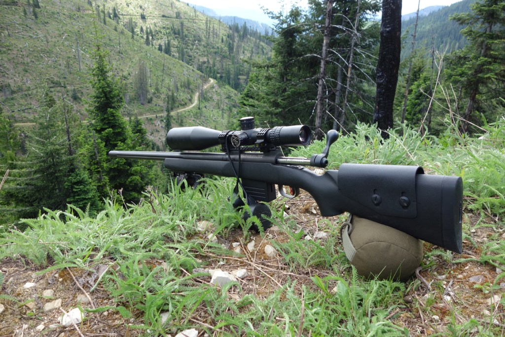 Savage LRP 260 Remington Ground Squirrel Hunting June 2017