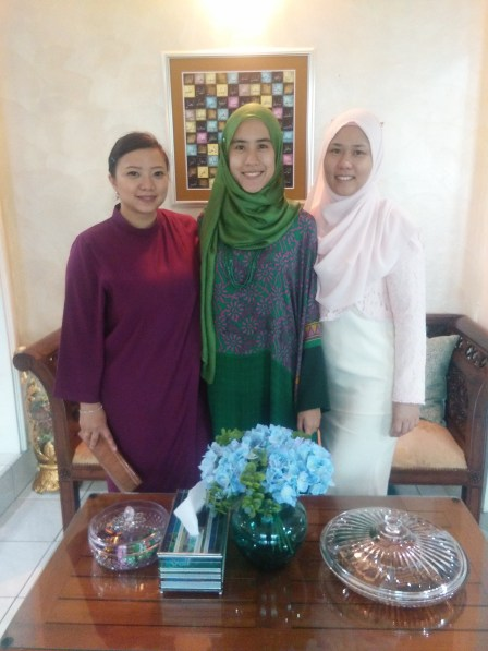 with my beloved cousins