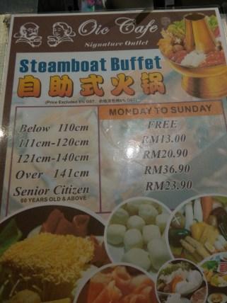 -At OIC Steamboat Buffet, Aman Suria, KL