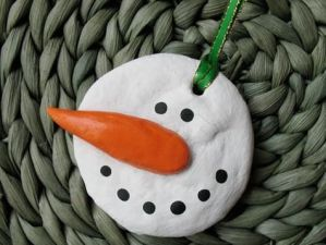 zimowe prace plastyczne - masa solna