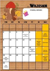 kalendarz przedszkolaka 2019/2020