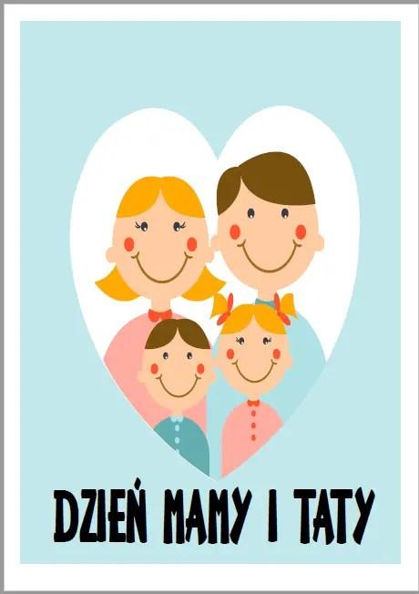 moja rodzina - plakat