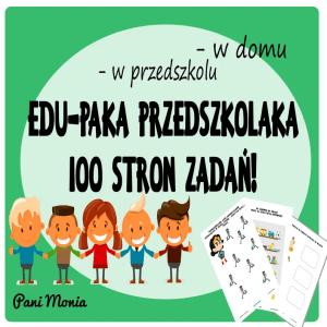 karty pracy dla przedszkolaka