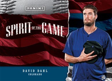 Panini America 2017 Father's Day Spirit of the Game24