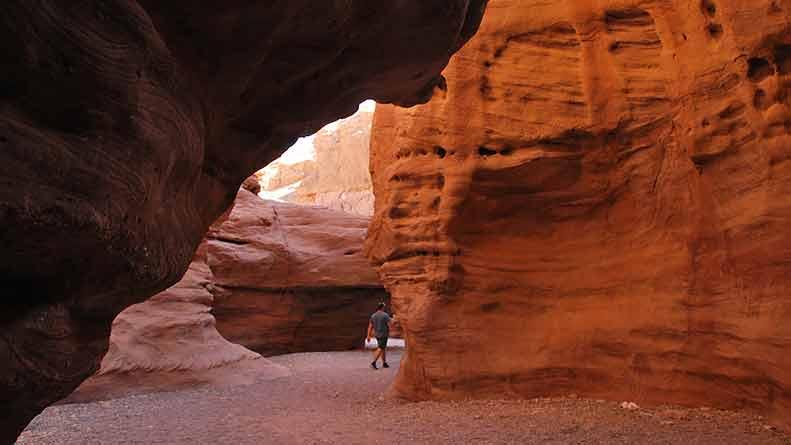 Прогулки по окрестностям Эйлата. Красный каньон