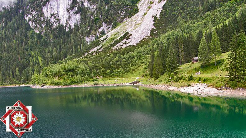 Самое красивое озеро Австрии в  20-ти фотографиях