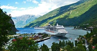 Норвегия.Согне-фьорд