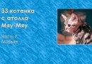 33 котенка с атолла Мяу-Мяу. Часть 7. Марьян
