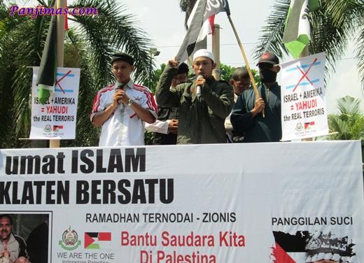 Aksi Solidaritas & Penggalangan Dana Untuk Muslim Gaza di Klaten 4
