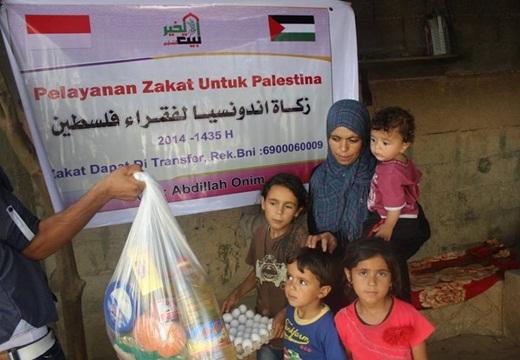 Bang Onim Salurkan Bantuan Pada Warga Gaza Dibawah Serangan Roket Israel 2