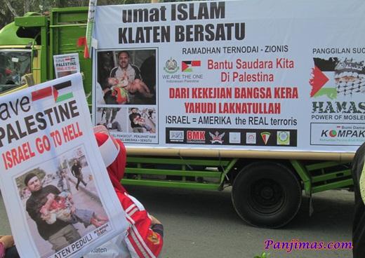 Foto Aksi Solidaritas & Penggalangan Dana Untuk Muslim Gaza di Klaten 3
