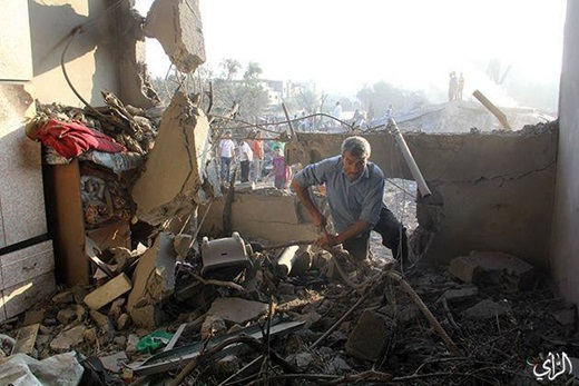 Warga Gaza Korban Serangan Membabi Buta Zionis Israel 8 Juli 2014 2