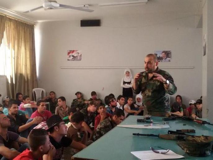 perekrutan anak-anak suriah menjadi tentara pro pemerintah 2
