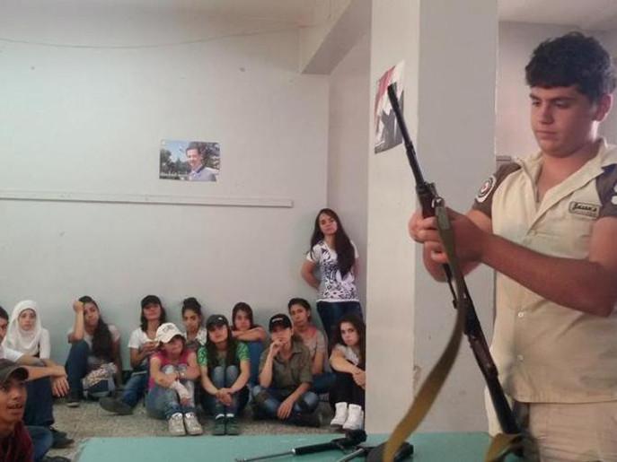 perekrutan anak-anak suriah menjadi tentara pro pemerintah 3