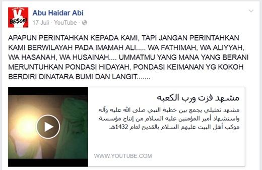 Akun FB Bahrudin IJABI 5
