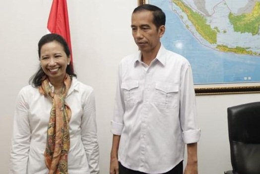 Rini Soemarno & Jokowi
