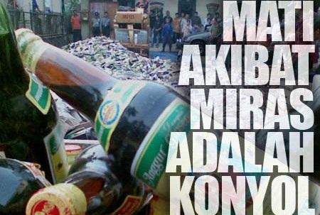 Mati Akibat Miras Oplosan