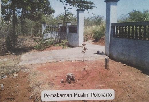 Perluasan Pemakaman Muslim di Polokarto Solo 1
