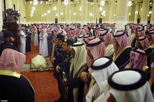 Raja Abdullah Saudi Mati & Disholatkan